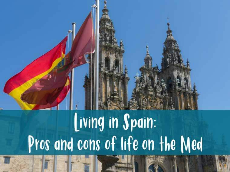 Living in Spain pros and cons list post header