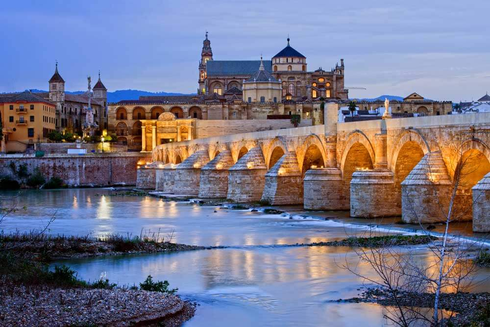 One of the best free things to do in Cordoba is visit the Puente Romano.