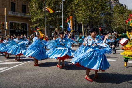 How Is Dia De La Raza Celebrated in Spain?