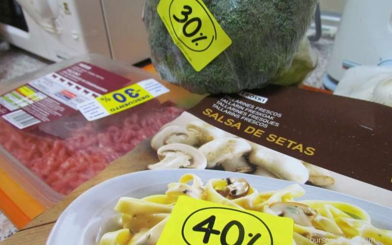 Eroski is a supermarket in Spain which often has excellent markdowns